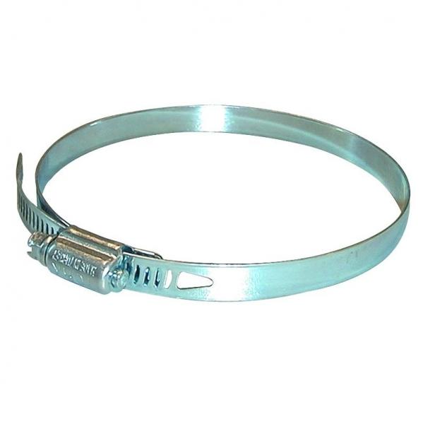 Colier metalic pentru fixare furtun aspirator la abricht circular O 110 mm GUDE