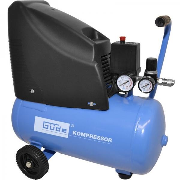 Compresor fara ulei Guede GUDE50111 1100 W 24 L 8 bari