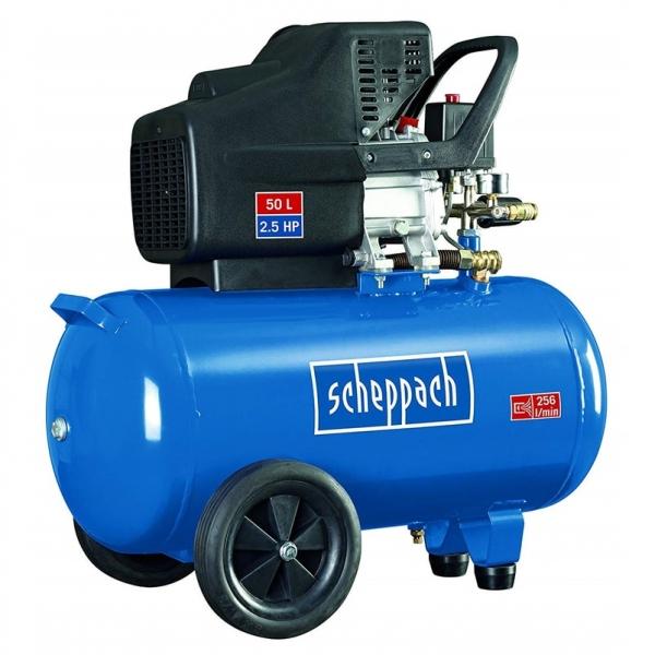 Compresor HC51 Scheppach SCH5906107901 1800 W 50 L 2.5 Cp CNL