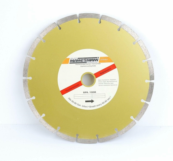 Disc diamantat segmentat pentru fierastrau circular Mannesmann M1245 178 O180 mm