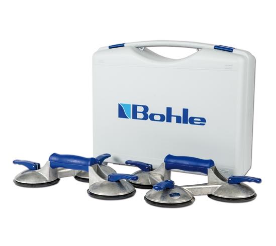 Dispozitiv pentru manipulat sticla cu ventuza cu 3 brate Bohle 603.0BL O120 mm