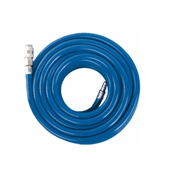 Furtun aer comprimat din PVC cu insertie textila 15 m Scheppach SCH7906100711 O14 mm