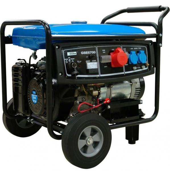 Generator de curent pe benzina GSE 6700 Guede GUDE40635 9500 W 12 Cp
