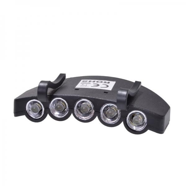 Lanterna cu sistem de prindere pe sapca pentru vanatoare pescuit Filmer FLMR36170 5 LED uri