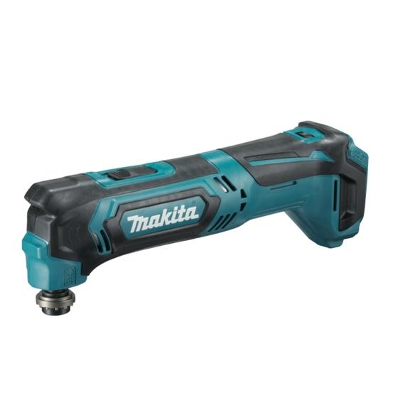 Masina unghiulara multifunctionala si accesorii fara acumulator 18 V Makita TM30DZKX3 20000 rpm