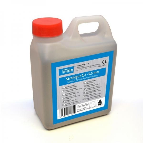 Material pentru sablare 1.5 kg Guede GUDE4000 0.2 0.5
