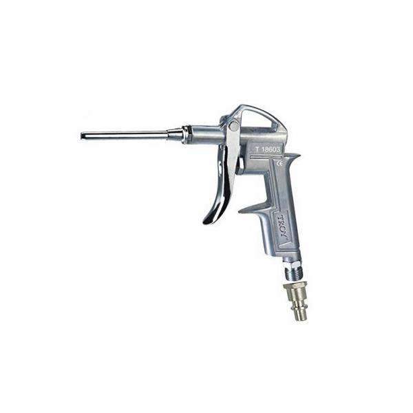 Pistol de suflat pneumatic 1 4 (N)PT Troy T18603 duza de 100 mm