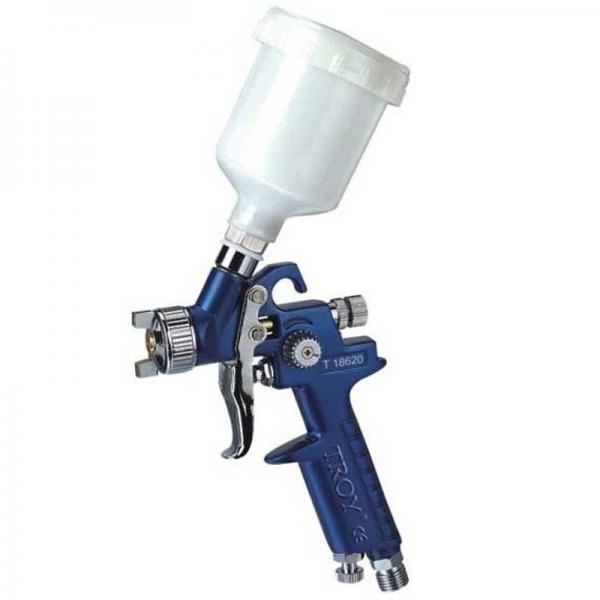 Pistol de vopsit cu aer comprimat Troy T18620 125 ml O1.0 mm
