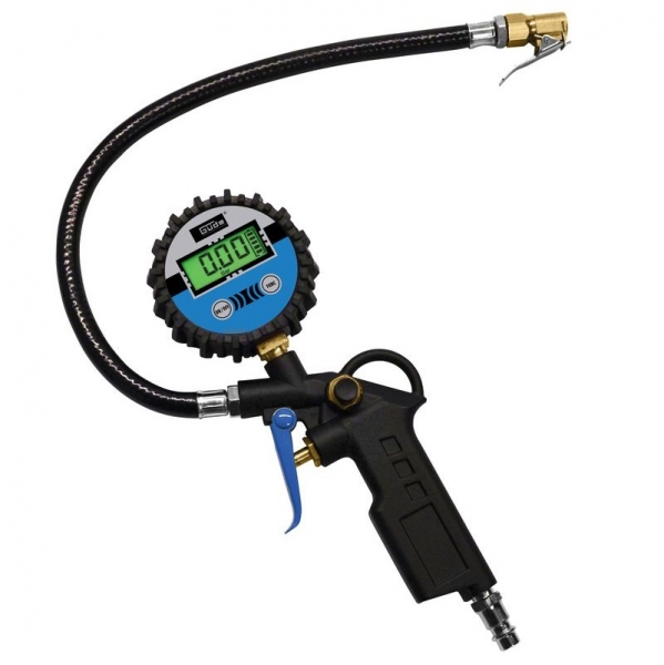 Pistol pentru umflarea anvelopelor cu manometru digital Guede GUDE2823 12 bari