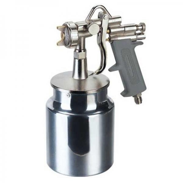 Pistol de vopsit cu aer comprimat alimentare prin suctiune 1000ml Troy T18678 O1 8mm
