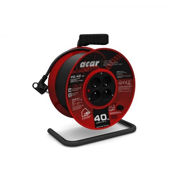 Prelungitor electric pe tambur Acar A82454 40 m