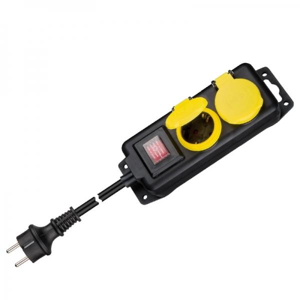 Prelungitor pentru exterior cu comutator Filmer FLMR20838 1.4 m