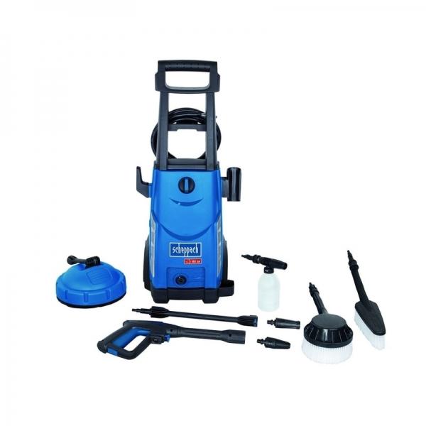 Aparat de spalat cu presiune 8 accesorii HCE2400 Scheppach SCH5907705901 2400 W 180 bari