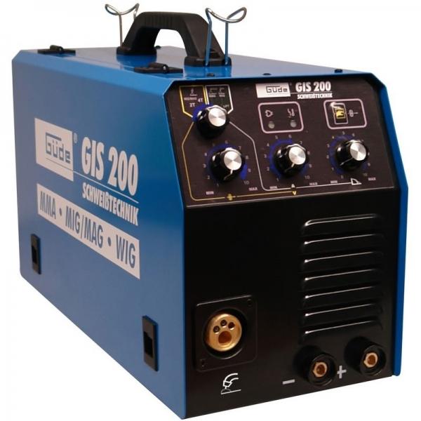 Aparat de sudura tip invertor GIS200 Guede GUDE20037 10 200 A 5 kVA