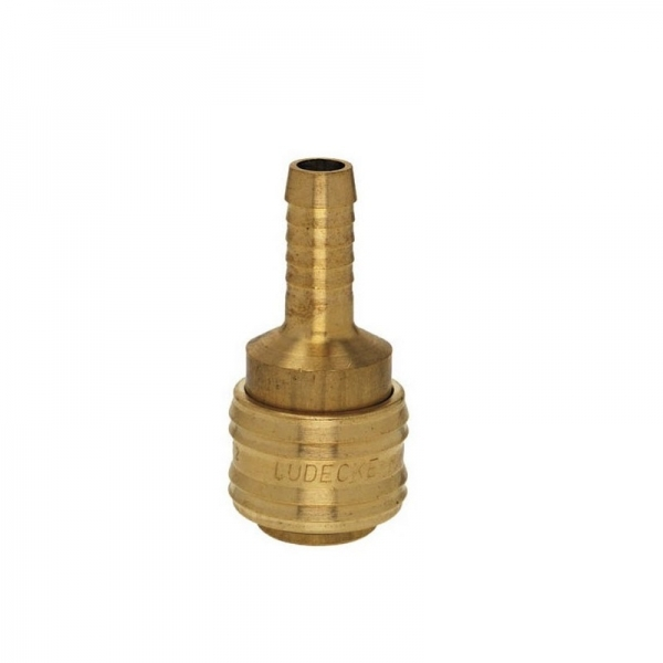 Conector aer comprimat pentru cuplare furtun Ludecke LUDES9T 9mm