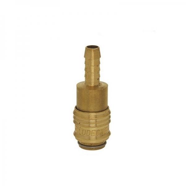 Conector aer comprimat pentru cuplare furtun Ludecke LUDESM6T 6mm