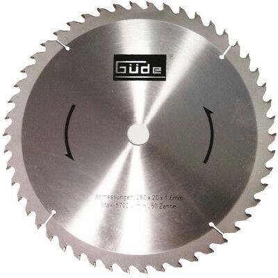 Disc pentru fierastrau circular taiere lemn Guede GUDE55023 O250 x 20 mm 50 dinti