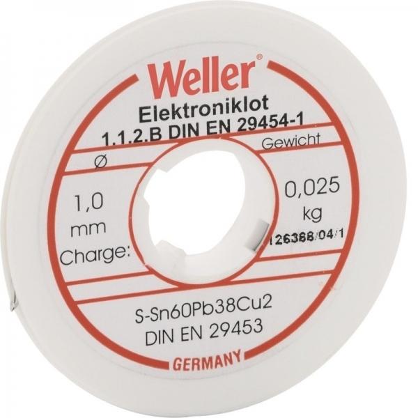 Fludor tip bobina Weller WELEL60 40 100 O1 mm( 467253)