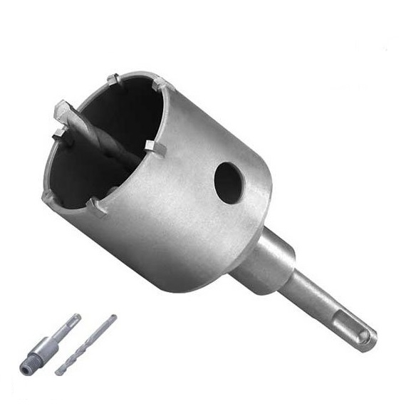 Carota SDS Plus cu pastile din carbura de tungsten (wolfram) Troy T27490 O67 mm