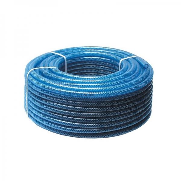 Furtun aer comprimat din PVC cu insertie textila 50 m Guede GUDE02820 6 mm