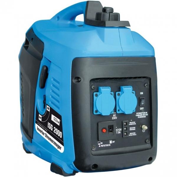 Generator de curent pe benzina cu invertor ISG 2000 Guede GUDE40647 2000 W 3Cp