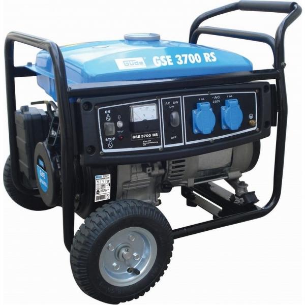Generator de curent pe benzina GSE 3700 RS Guede GUDE40643 5000 W 6.5 Cp