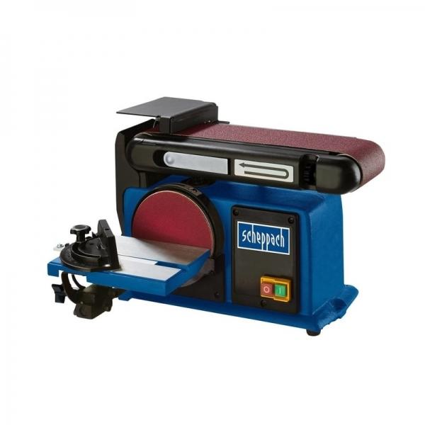 Masina de slefuit cu banda si disc BTS900 Scheppach SCH5903306901 370 W 2850 rpm