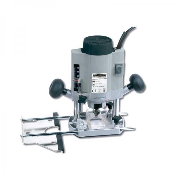 Masina de frezat verticala router Mannesmann M12860 1020 W 30000 rpm