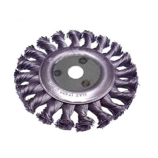 Perie circulara cu fire rasucite (100 mm) TROY