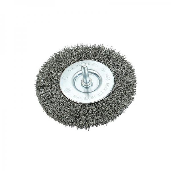 Perie sarma circulara cu tija 75 mm MANNESMANN