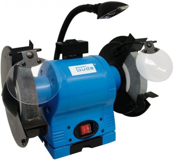 Polizor de banc GDS 200L Guede GUDE55122 550 W O200 mm