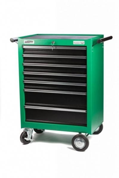 Carucior portabil cu 7 sertare echipat cu 321 scule