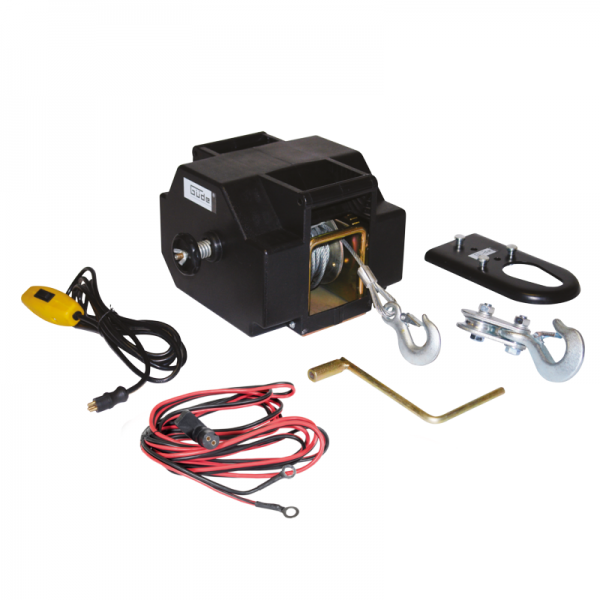 Troliu electric 1800 KG 12V GUEDE 55128